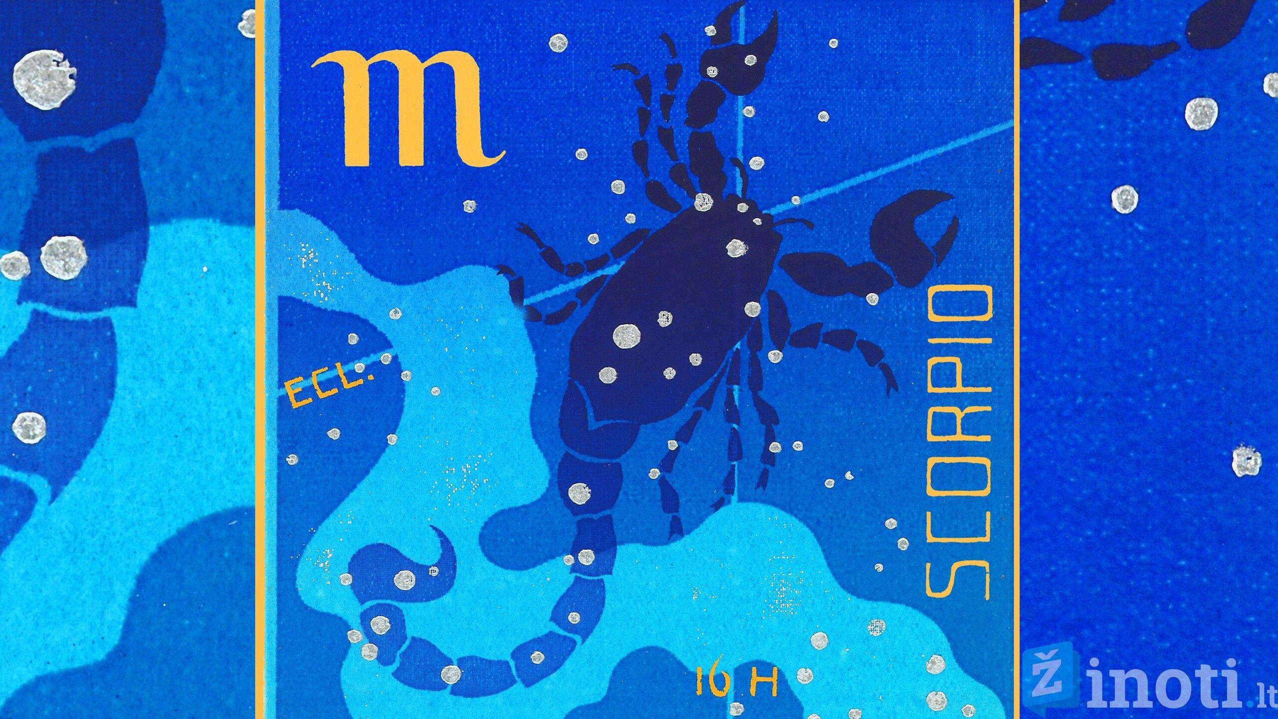 skorpionas, senatvė