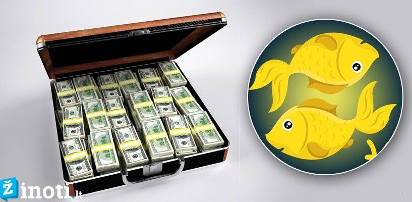 pinigų