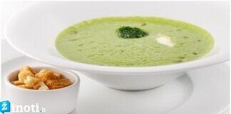 Smidrų kreminė sriuba. Skanu, sveika ir greitai pagaminama!