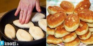 Nostalgiški, labai skanūs močiutės pyragėliai su uogomis kepti keptuvėje!