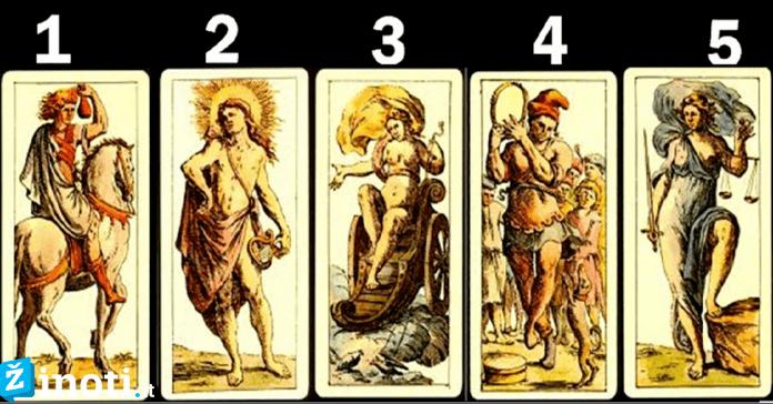 Pasirinkite kortą ir sužinokite, ką jums paruošė likimas