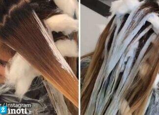 Kirpėjas į merginos plaukus įsuko medvilnės - gavosi puikus dažymas!