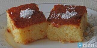 Manų pyragas su kefyru. Išbandykite šį gardų desertą