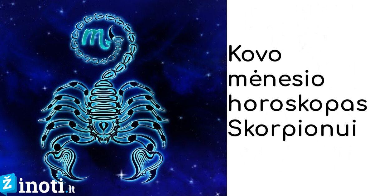 Skorpiono svorio metimo horoskopas