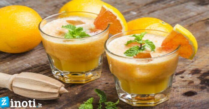 Gėrimai, pagreitinantys jūsų medžiagų apykaitą, norint sulieknėti!