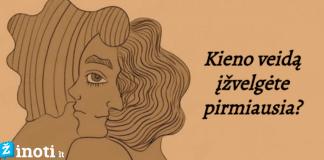 Psichologinis testas: kokį veidą pamatėte pirmiausia?