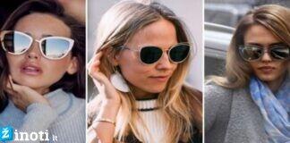 Kaip išsirinkti pačius madingiausius akinius nuo saulės?