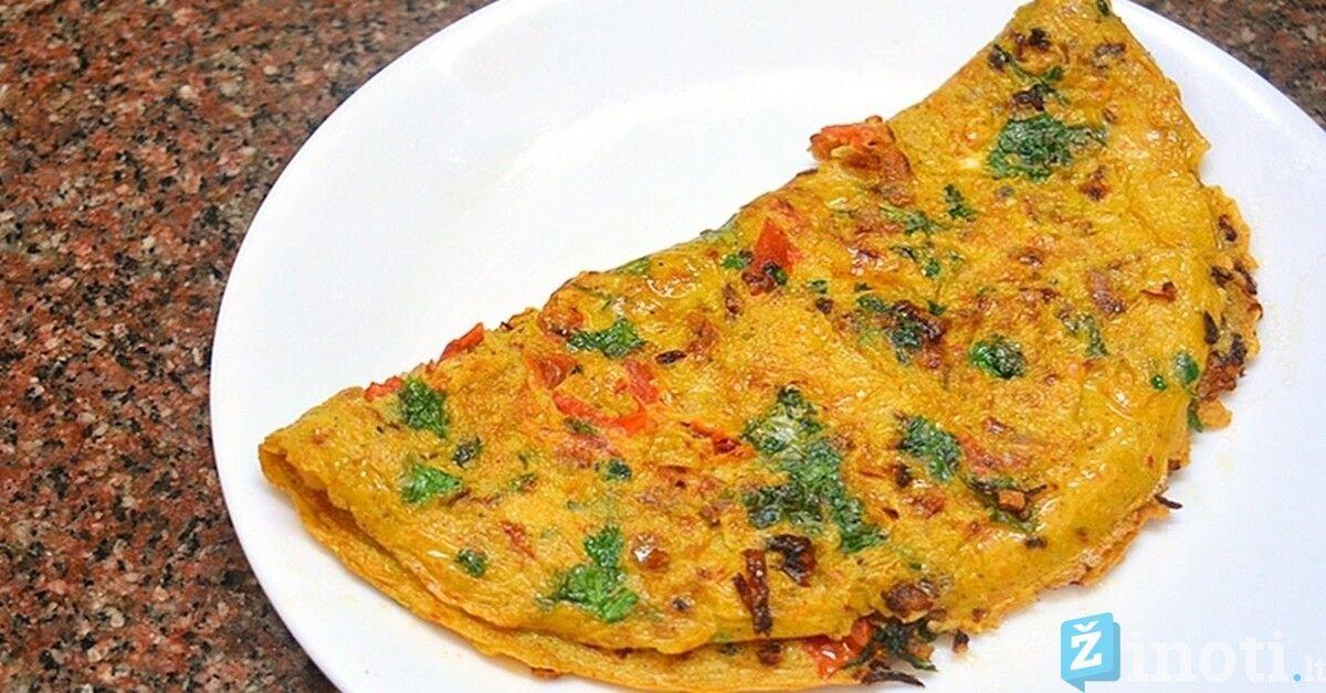 sveikas svorio omletas