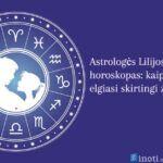 Lilijos Banaitienės horoskopas: kaip įsimylėję elgiasi zodiako ženklai?