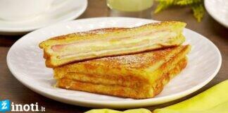 """Garsusis sumuštinis """"Monte Kristo"""". Mėgaukitės puikiais pusryčiais!"""