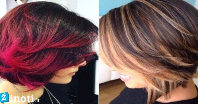 Idėjos pavasariui: stilingiausios šukuosenos ir plaukų spalvos