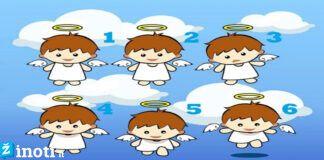 Pasirinkite angeliuką ir sužinokite, kokią žinią jis atnešė jums
