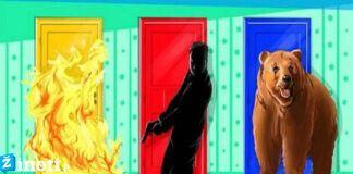 Pasirinkite duris ir sužinokite, ar stiprų savisaugos instinktą turite