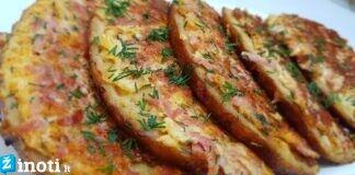 Karšti sumuštiniai. Puikus receptas be galo skaniems pusryčiams!