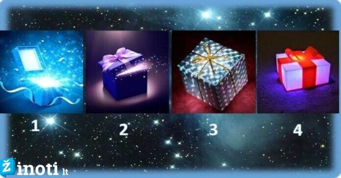 Išsirinkite dovanų dėžutę ir sužinokite, kokios likimo dovanos sulauksite!