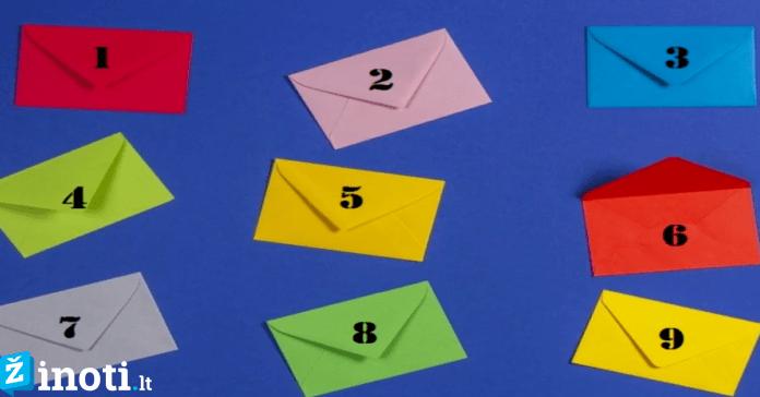 Pasirinktas laiškas atskleis, koks jūsų požiūris į gyvenimą