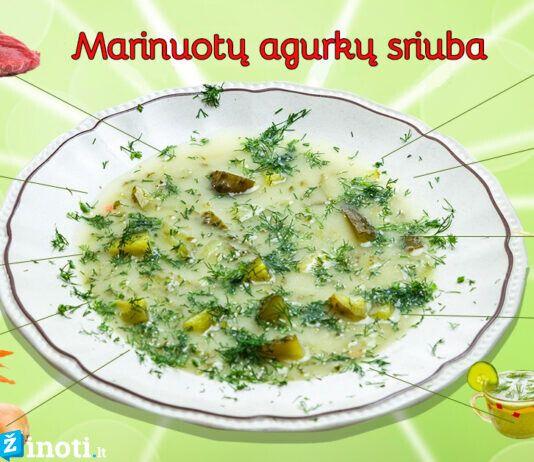 Marinuotų agurkų sriuba. Tikra atgaiva jūsų kūnui ir sielai!