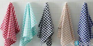 Kaip skalbti virtuvinius rankšluosčius ir pašalinti įsisenėjusias dėmes?