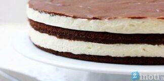 """Tortas """"Milka"""". Šis desertas greitai taps jūsų mėgstamiausiu!"""