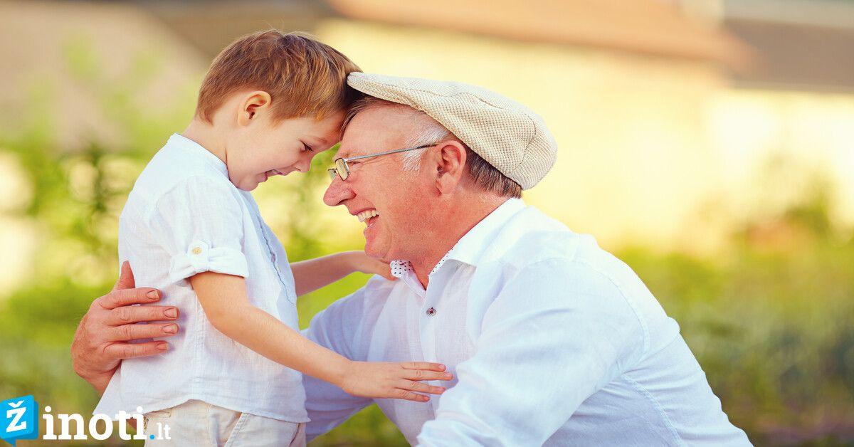 Už širdies griebianti istorija. Kodėl senelis augino anūką tarsi savo vaiką?