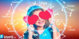 Zodiako ženklai, kuriuos kovą aplankys nepaprasta meilė