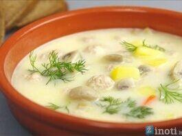 Sūrio sriuba. Sotus patiekalas, kuris nepaliks abejingų