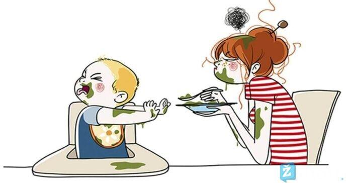 Iliustracijos, kurios parodo, kaip iš tikrųjų atrodo motinystė