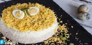 Vištienos ir grybų salotos, skonis tarsi iš prabangaus restorano