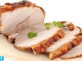 Kiauliena orkaitėje: tiks tiek sumuštiniams, tiek salotoms