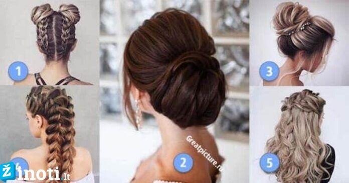 Pasirinkite šukuoseną ir sužinokite, kokį pirmąjį įspūdį paliekate kitiems