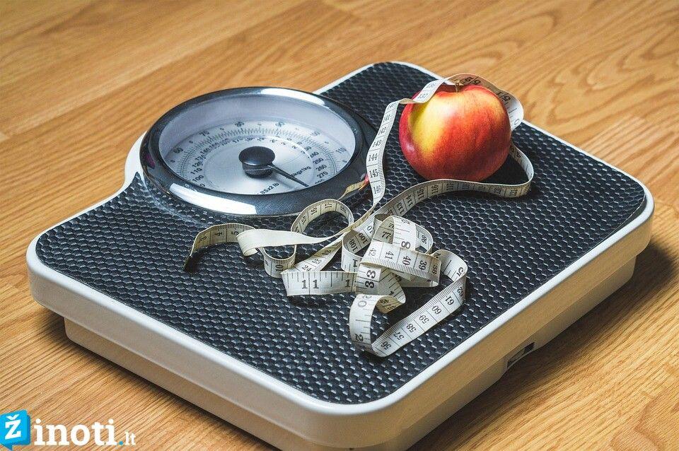 40 metų moteris numeta svorio)