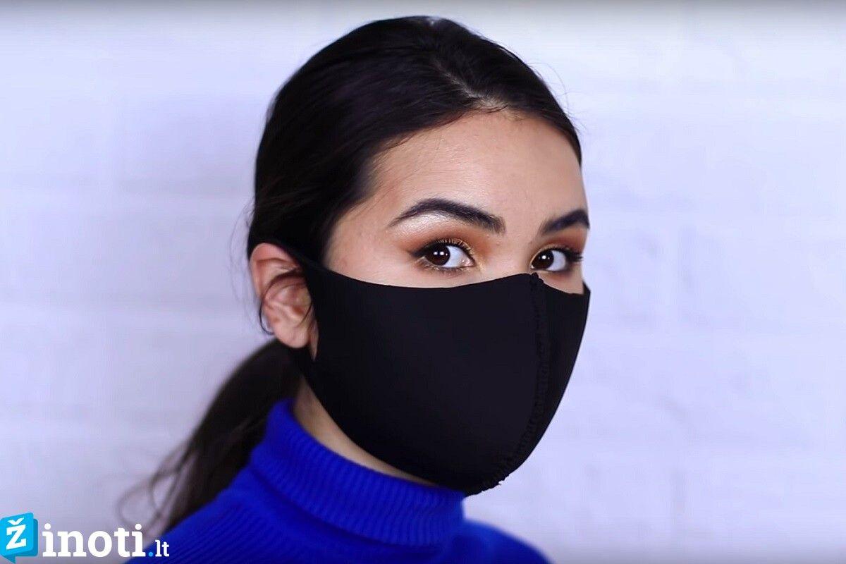 apsauginę kaukę