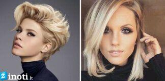 Prašmatnios šukuosenos trumpiems plaukams. Būkite stilinga!