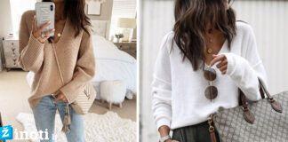 Megztinio dėvėjimo idėjos naujam sezonui. Būkite graži ir švytinti!