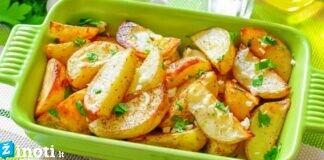 Graikiškos bulvės orkaitėje: tokios skanios, kad norėsite antros porcijos!