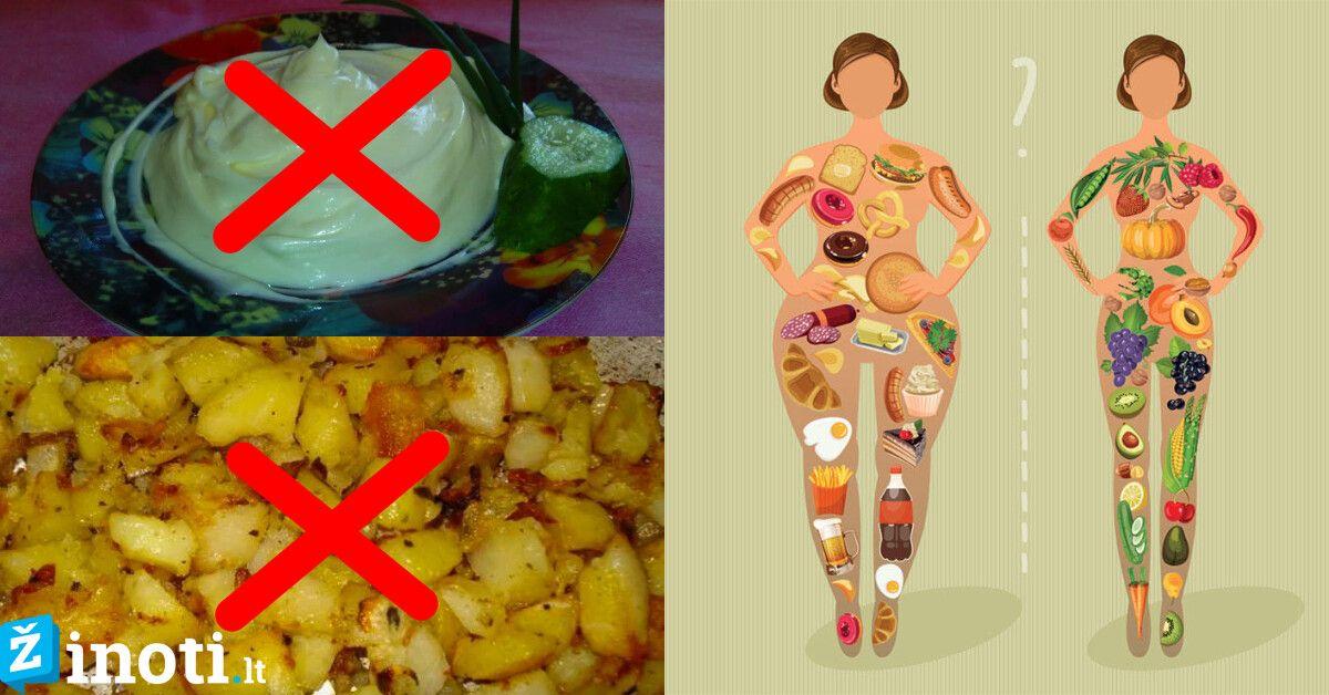 svorio metimo maisto produktai geriausi sveikatos patarimai, kaip numesti svorio