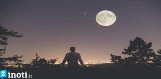 Kaip mus paveiks 2020 m. kovo 9 d. Mėnulio pilnatis?