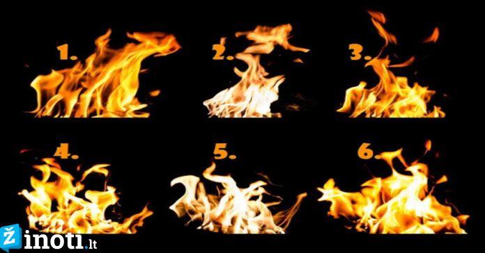 Testas: išsiaiškinkite, kokia ugnis dega jūsų sieloje