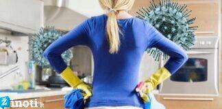 Namų valymo būdai, kurie padės sunaikinti virusines bakterijas
