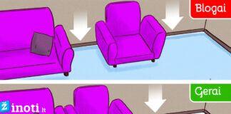 Interjero dizaineriai įvardijo 10 dažniausiai pasitaikančių klaidų namų interjere