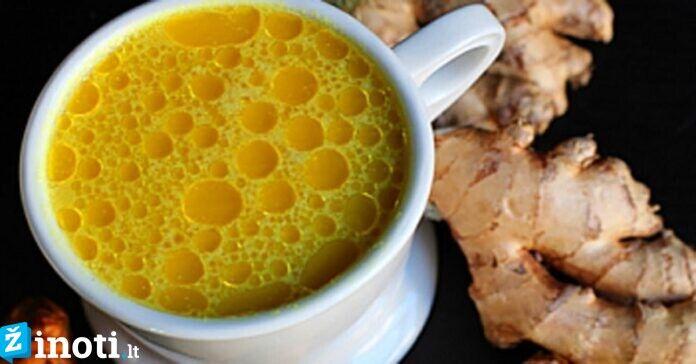 Citrinų, imbiero ir ciberžolės arbata - puikus vaistas nuo peršalimo!