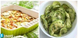 5 dietiniai cukinijų patiekalai. Atraskite šią daržovę iš naujo!