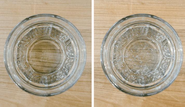 vandens stiklinė