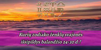 Balandžio 24-30 dienomis pildysis šių zodiako ženklų svajonės