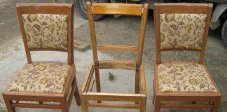 Senos kėdės. Kaip jas atnaujinti ir prikelti antram gyvenimui?