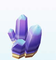 kristalą