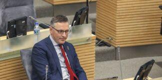 Seimo narys Vytautas Bakas. Mariaus Morkevičiaus (ELTA) nuotr.