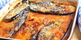 Kepti baklažanai, vegetariškos ir sočios vakarienės idėja