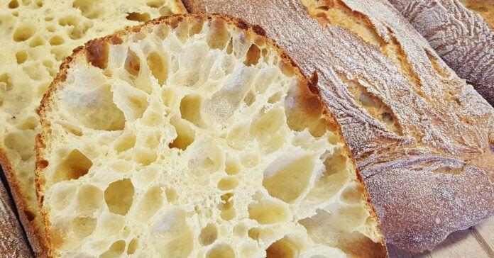 """Itališka """"Ciabatta"""" duona, išsikepkite ją savo namuose patys!"""