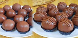Naminiai šokoladiniai saldainiai: pagunda, paruošta per kelias minutes!